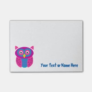 Funky Owl Sticky Notes