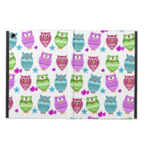 funky owls iPad air case