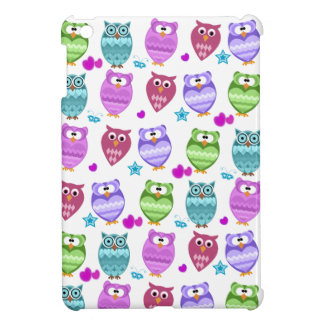 funky owls iPad mini cases