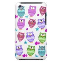 funky owls iPod touch case