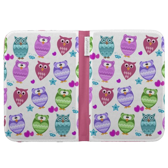 funky owls kindle cases