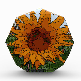 Funky Painting,Sunflower Award