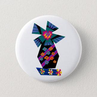Funky Palm Tree No1 Button
