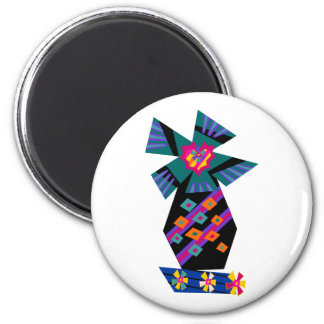 Funky Palm Tree No1 Magnet