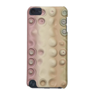 Funky Pastel Creamy Circles and Stripes iPod Touch (5th Generation) Case