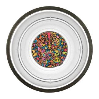 Funky pattern bowl