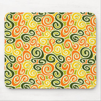 Funky Pattern Mouse Pad
