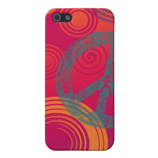 FUNKY PEACE COVER FOR iPhone SE/5/5s