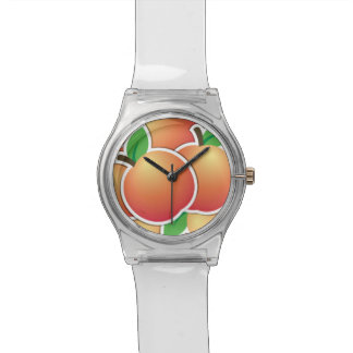 Funky peach watches