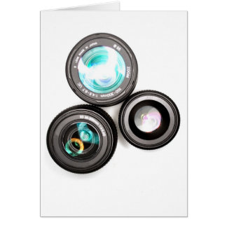 funky photography lens set card