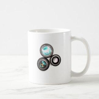 funky photography lens set coffee mug