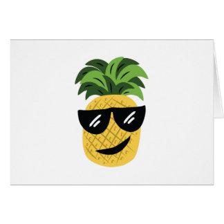 Funky Pineapple Greeting Card