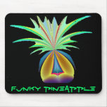 FUNKY PINEAPPLE MOUSE PAD