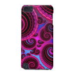 Funky Pink and Turquoise Swirl Pattern