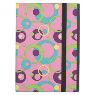 Funky Pink Circles iPad Powis Case iPad Air Cover