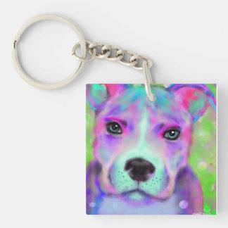 Funky Pitbull Key Chain