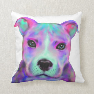 Funky Pitbull Pillow - updated