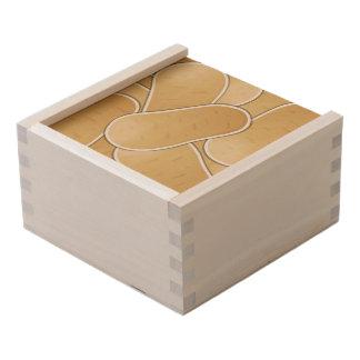 Funky potato wooden keepsake box
