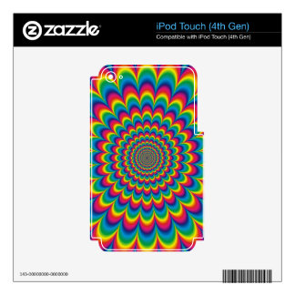 Funky Psychedelic Colour Fest iPod Touch 4G Skin