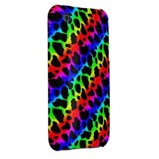 Funky Psychedelic Giraffe iPhone 3G Case iPhone 3 Case-Mate Case