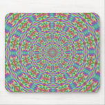 Funky Psychedelic Hippie Mousepad