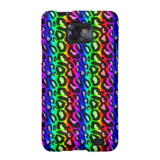 Funky Psychedelic Leopard Samsung Galaxy Case Galaxy S2 Case