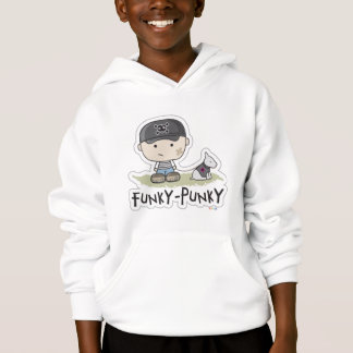 Funky-Punky  Kids Hooded Sweatshirt