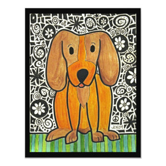 Funky Puppy Card