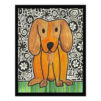 Funky Puppy Custom Invite