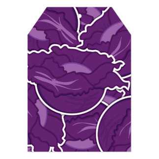 Funky purple cabbage card