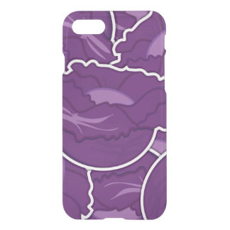 Funky purple cabbage iPhone 8/7 case