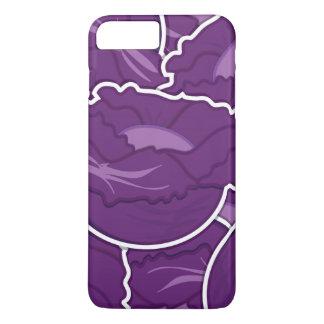 Funky purple cabbage iPhone 8 plus/7 plus case