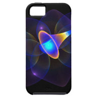 Funky Purple Comet iPhone 5 Cases
