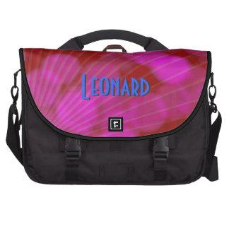 Funky Purple Laptop Bag Template
