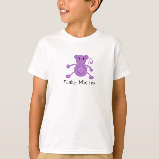 Funky Purple Monkey T-Shirt