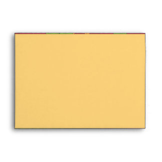 Funky Puzzle Pattern Greeting Card Envelope