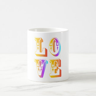 funky quotes love mug