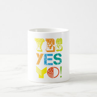 funky quotes yes mug