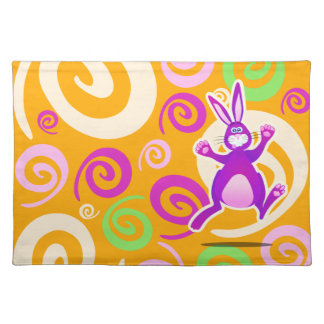 Funky rabbit, placemat