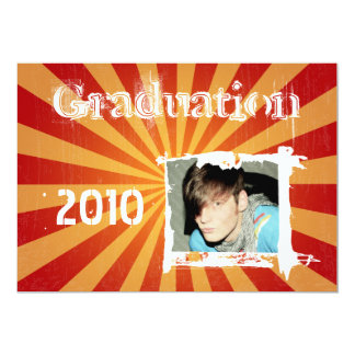 Funky Rad Grad Grunge Graduation Invitations