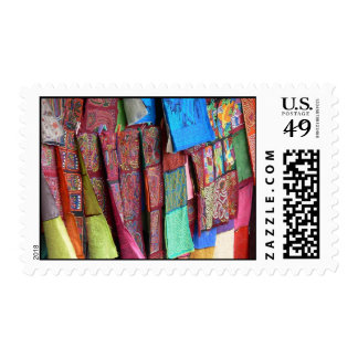 Funky Rags Postage Stamps