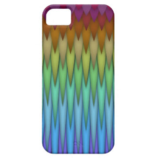 Funky Rainbow Abstract Fractal Art iPhone 5 Case