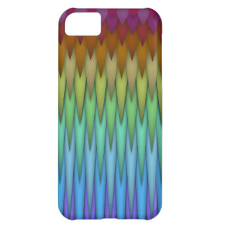 Funky Rainbow Abstract Fractal Art iPhone 5C Cover