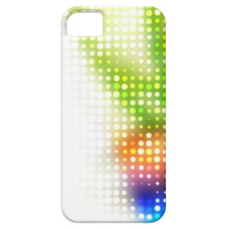 Funky Rainbow Dots Halftone iPhone 5 Covers