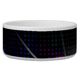 Funky Rainbow Halftone Bowl
