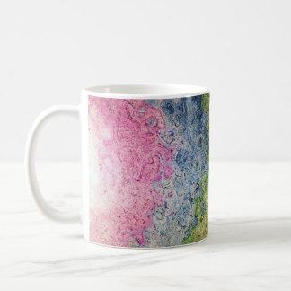 Funky Rainbow Texture Art Design Coffee Mug