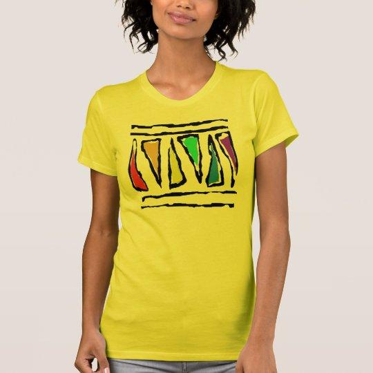 Funky Rainbow Triangles T-Shirt
