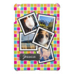 Funky Random Instagram Photo Collage iPad Mini Cover