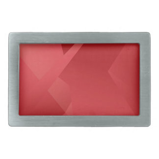 Funky Red Collection Belt Buckle