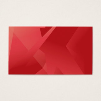 Funky Red Collection Business Card